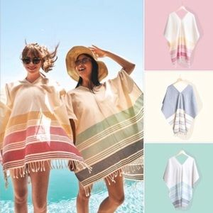{Tribe Alive} Handwoven Cotton Caftan Coverup